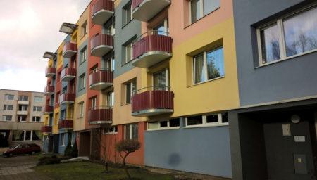 PENB pro bytový dům, Planá nad Lužnicí (Tábor)