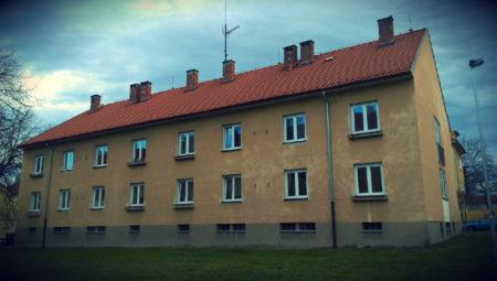 Průkaz energetické náročnosti - PENB - bytového domu v Č. Budějovicích, Pabláskova 34
