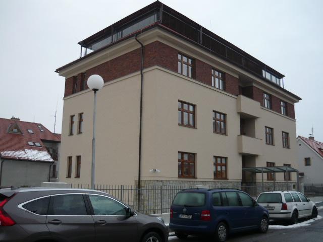 PENB - energetický štítek bytového domu, Český Krumlov
