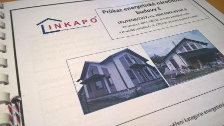 Průkaz energetické náročnosti budovy pro dům v Dolním Bukovsku
